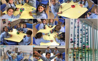 3º de Infantil genera ideas creativas con materiales reciclados
