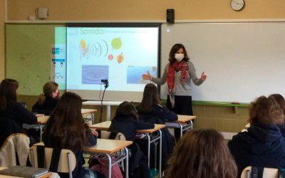 Alumnas de 6º de Primaria buscan soluciones innovadoras para paliar la contaminación acústica